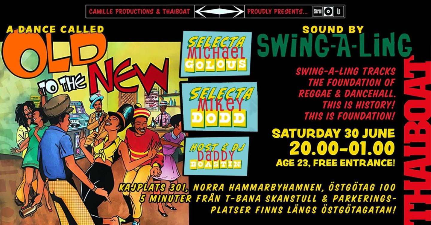 """Swing-A-Ling Sound System<br><span class=""""event-time"""">20.00 – 01.00</span>"""