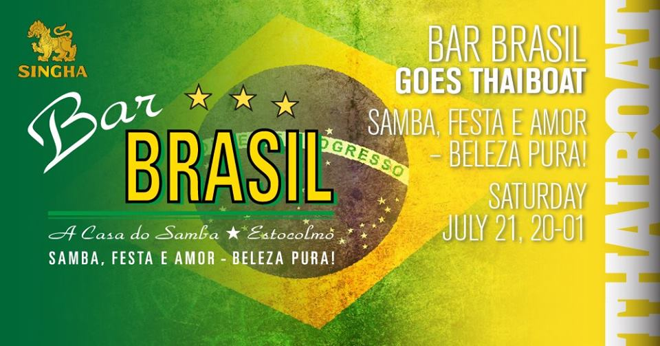 "Bar Brasil goes Thaiboat<br><span class=""event-time"">20.00 – 01.00</span>"
