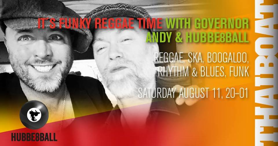 "It´s Funky Reggae Time<br><span class=""event-time"">20.00 – 01.00</span>"