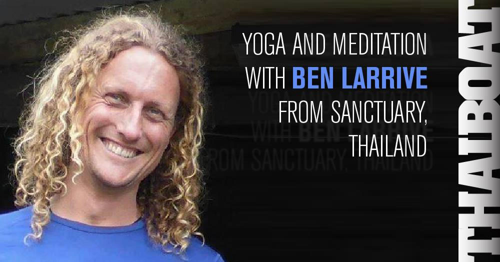"Yoga with Ben Larrive<br><span class=""event-time"">10.00 – 11.30</span>"