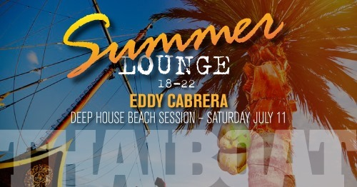 "Summer Lounge with Eddy Cabrera<br><span class=""event-time"">11:e juli, kl 18.00 – 22.00</span>"