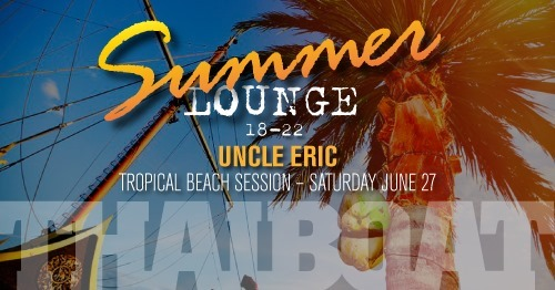 "Summer Lounge with Uncle Eric<br><span class=""event-time"">27:e juni, kl 18.00 – 22.00</span>"